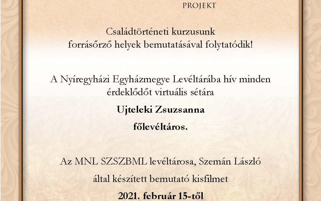 Virtuális séta a görögkatolikus levéltárban