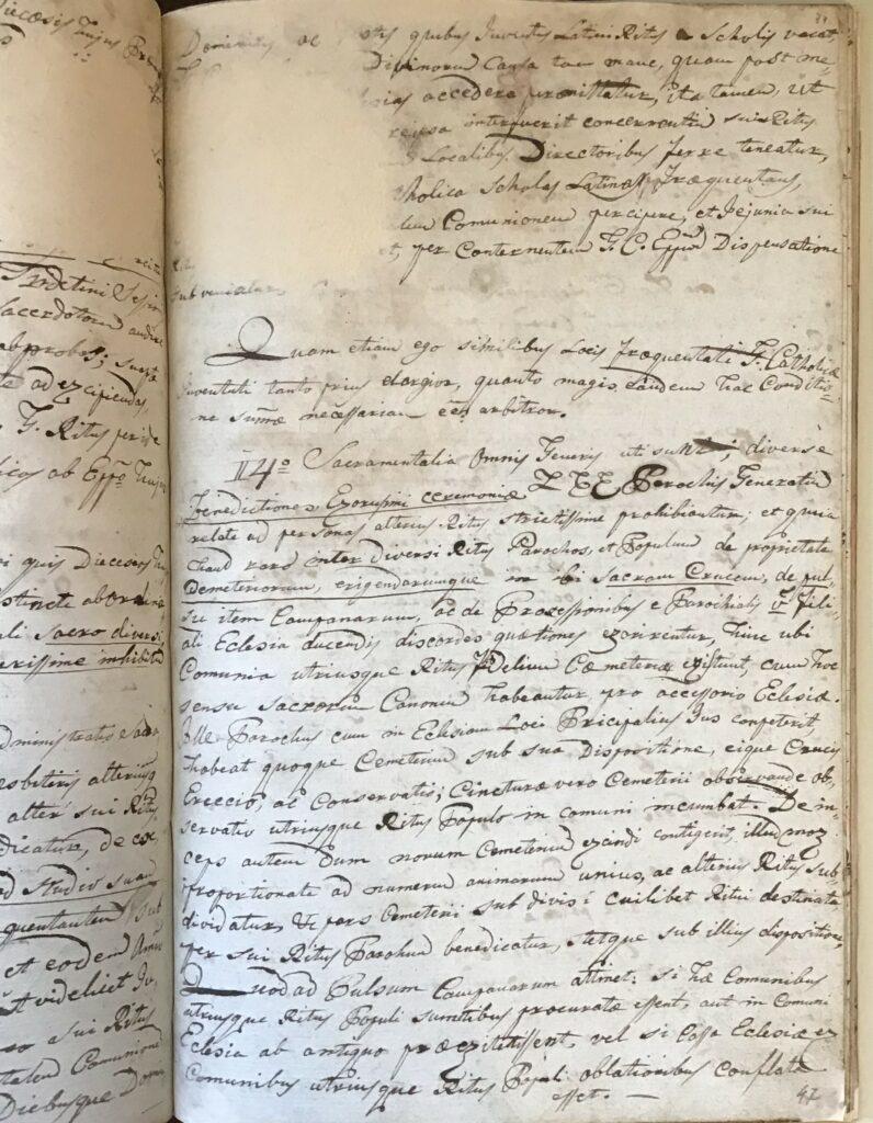 2.2.) Nyírpilisi protokollum: 1810–1842; Restaurált állapot (NYEL II–15–c. II. 47. oldal)