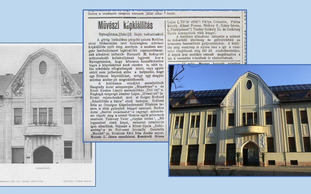 2021. július – A Nyíregyházi Egyházmegye püspöki palotájában nyitottak képkiállítást 1921-ben